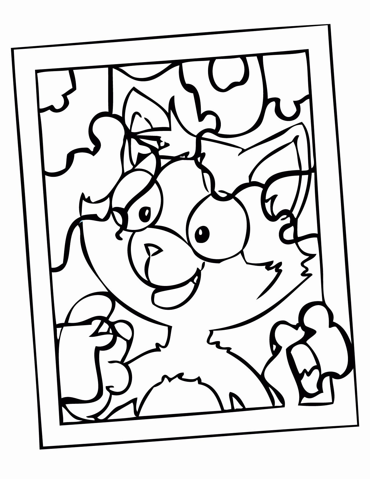 One Piece Coloring Sheet Fresh Puzzle Piece Coloring Pages