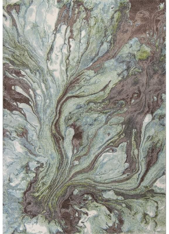 Wade Logan Kaia Abstract Green Area Rug Watercolor Rug Area