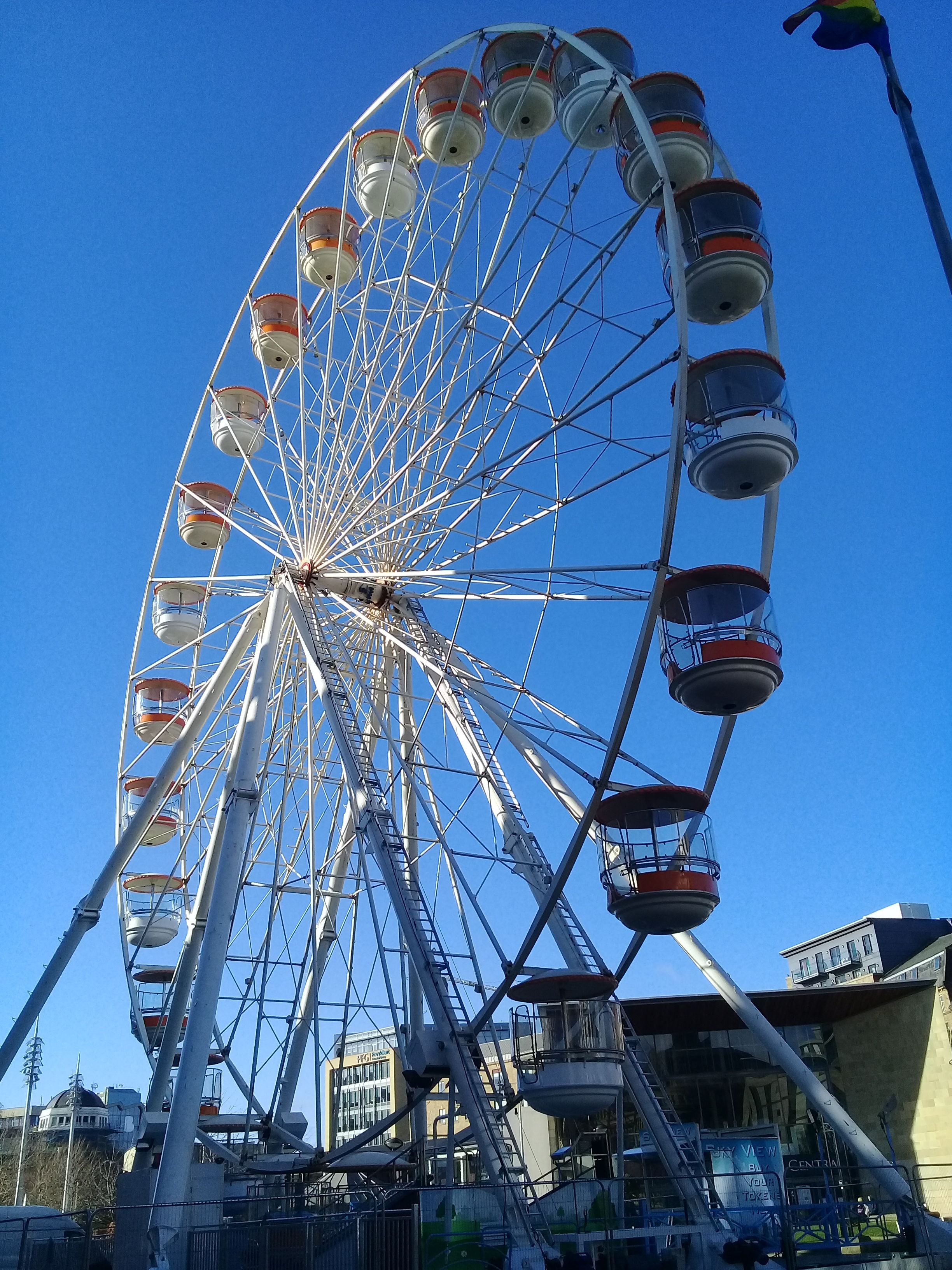 the giant wheel in
