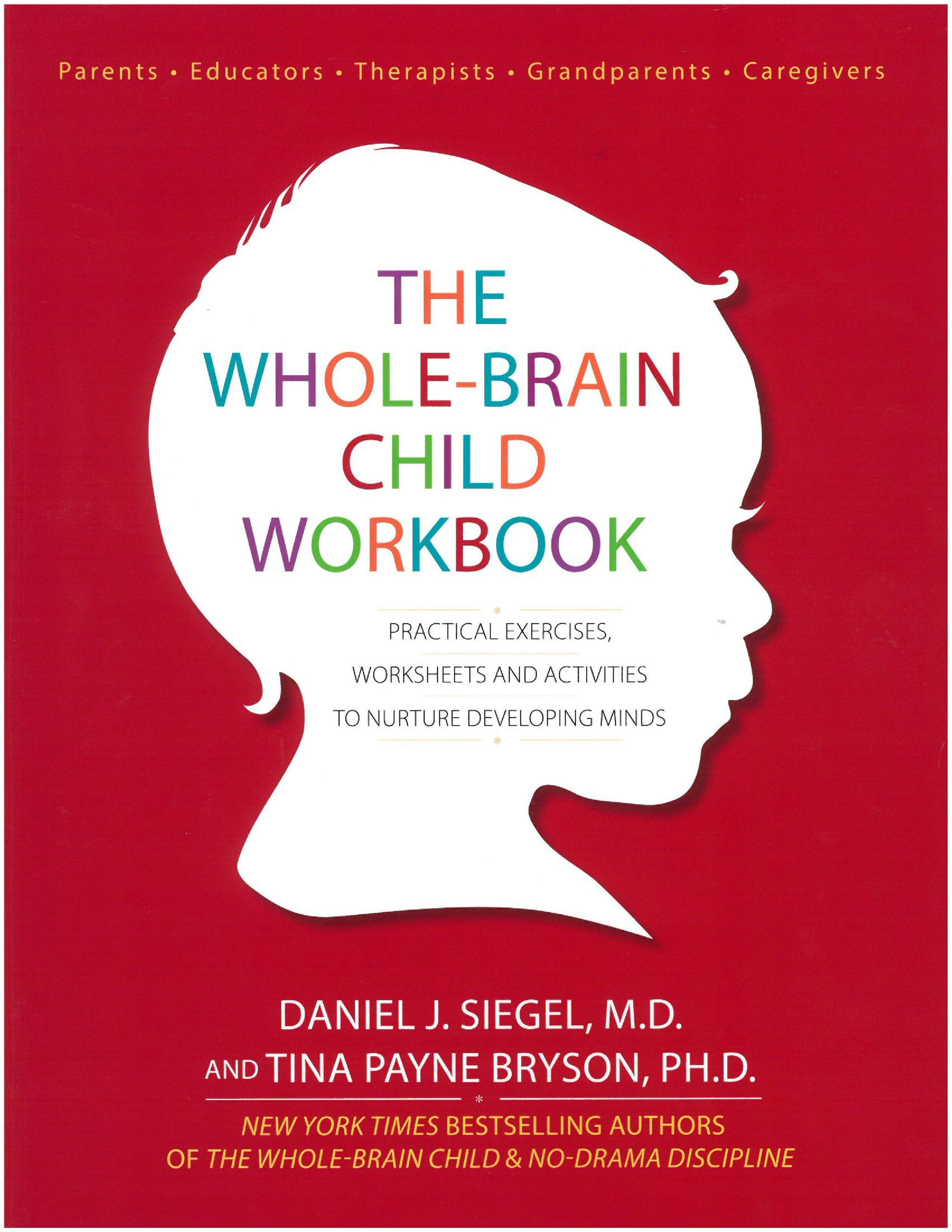 A Companion Workbook To The Whole Brain Child To Apply