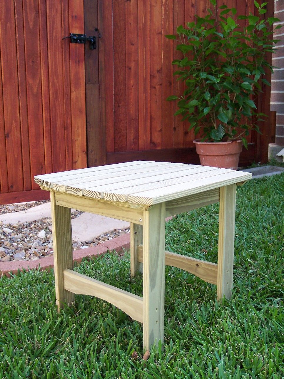 Adirondack Table Small Treated Pine Pallet Projects, Projects To Try,  Outdoor Ideas, Outdoor - Adirondack Table Small Treated Pine Outdoor Furniture Pallet