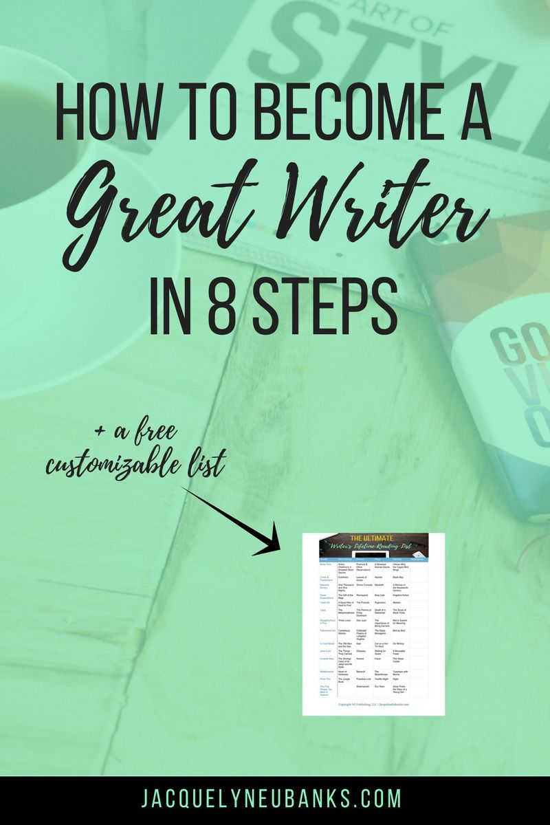 How to Become a Great Writer (in 12 Steps)  Book writing tips