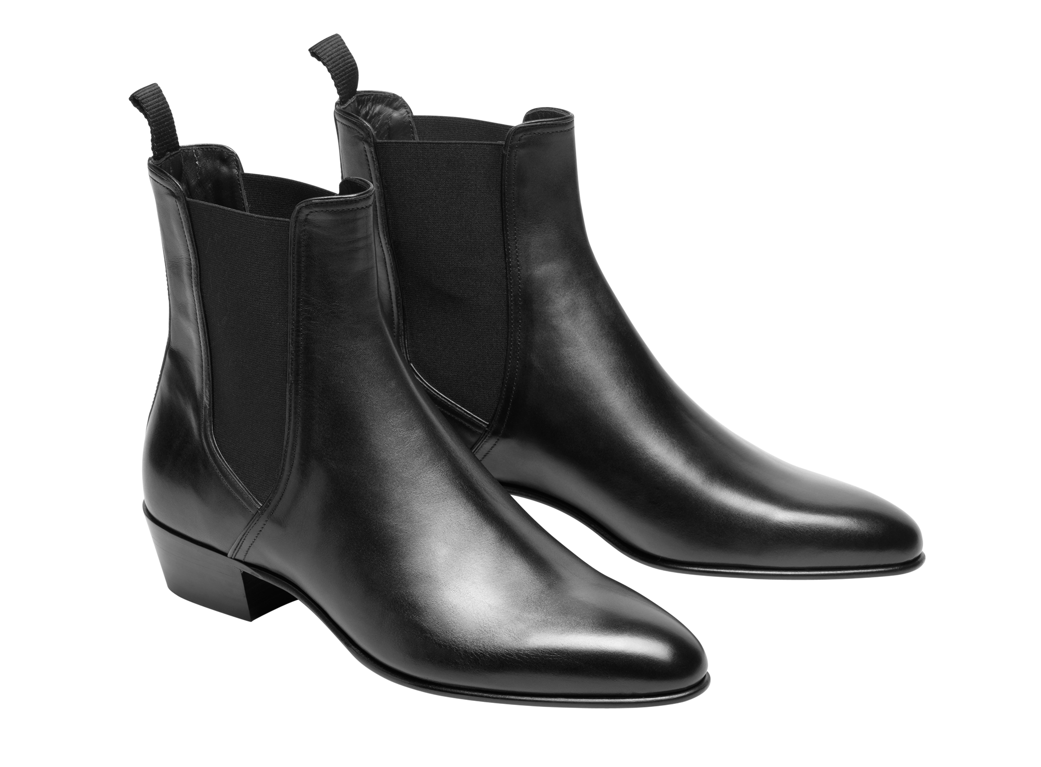 dd9e70853f5d CALF LEATHER CHELSEA BOOTS -  765.00