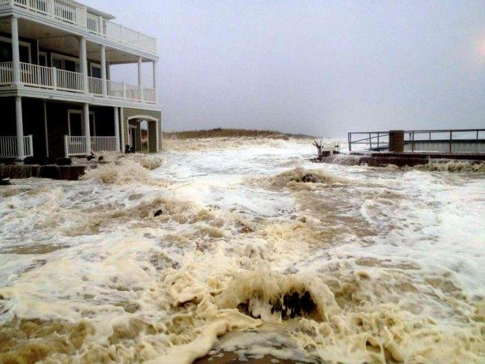 Hurricane Sandy Monday Hurricane Sandy Long Beach Island Brigantine Beach