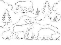 BEAR/MOOSE QUILT PATTERN | Quilts & Patterns | quilt stencils ... : moose quilt pattern - Adamdwight.com