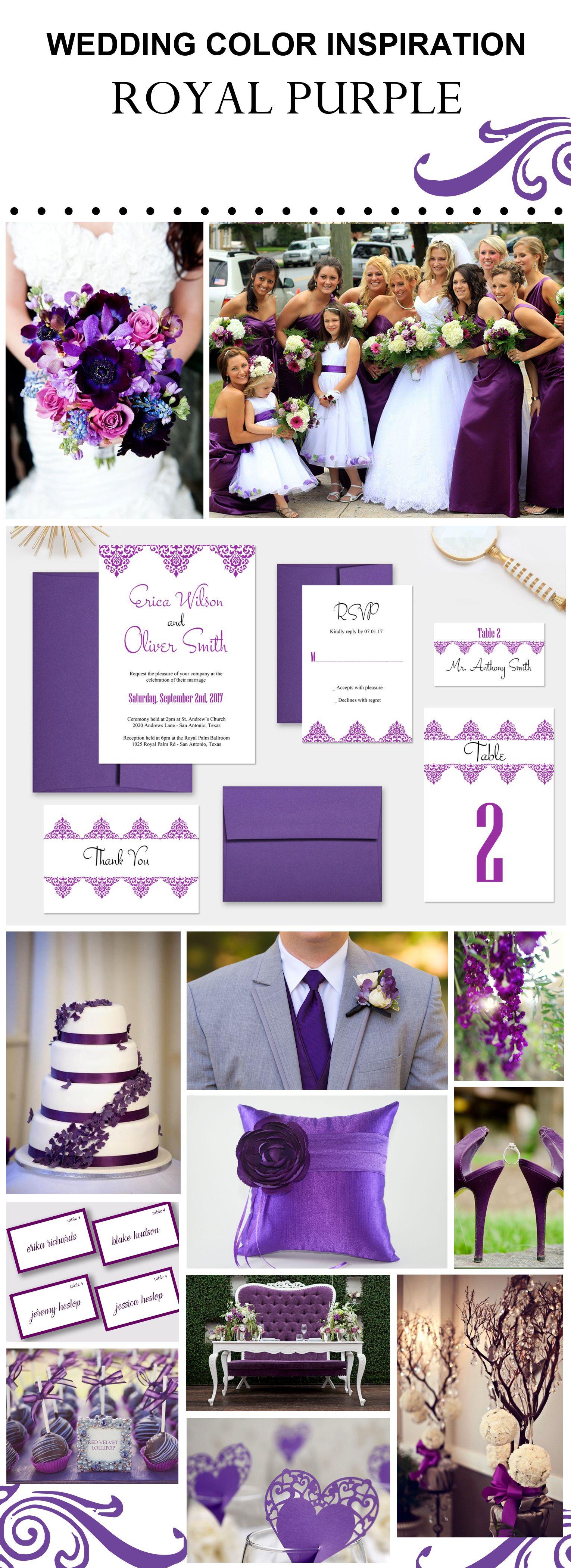 Purple Wedding Ideas Wedsclusive Www Wedsclusive Etsy Com Wedding