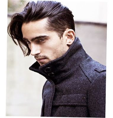 Mens Hairstyles Long In Front Short On Sides