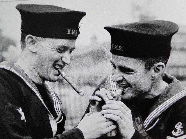 черно белые фото моряков чего