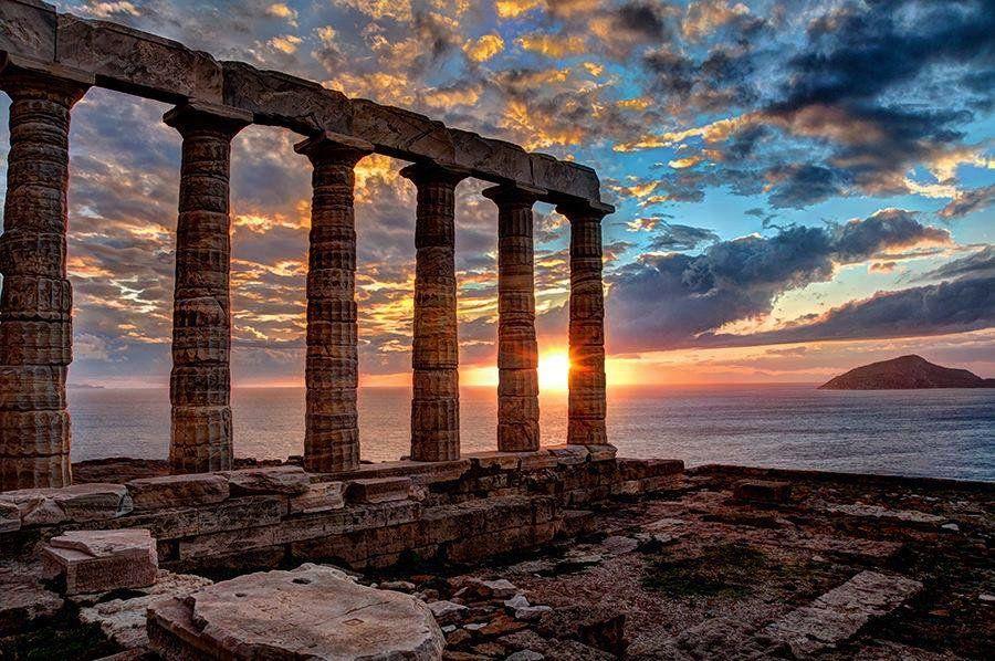 Temple Of Poseidon Cape Sounion Greece 1 Ioannis Tz Tzoumio Twitter Greece Photography Ancient Greece Architecture Ancient Greece