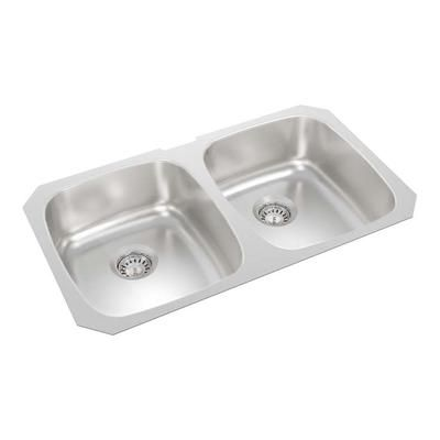Wessan Double Bowl Undermount 31 Inch X 18 7