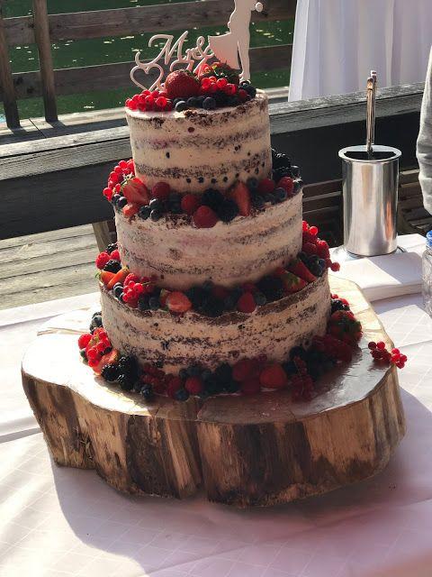 Hochzeitstorte Naked Cake Hochzeit Am See Herbsthochzeit
