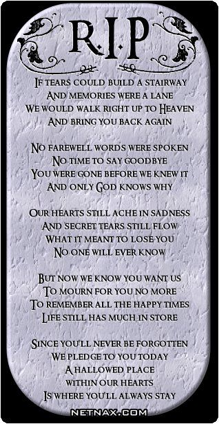 In Memory Of A Dear Friend We Lost Last Night Gone Too Soon In Cool Quotes About Losing A Loved One Too Soon