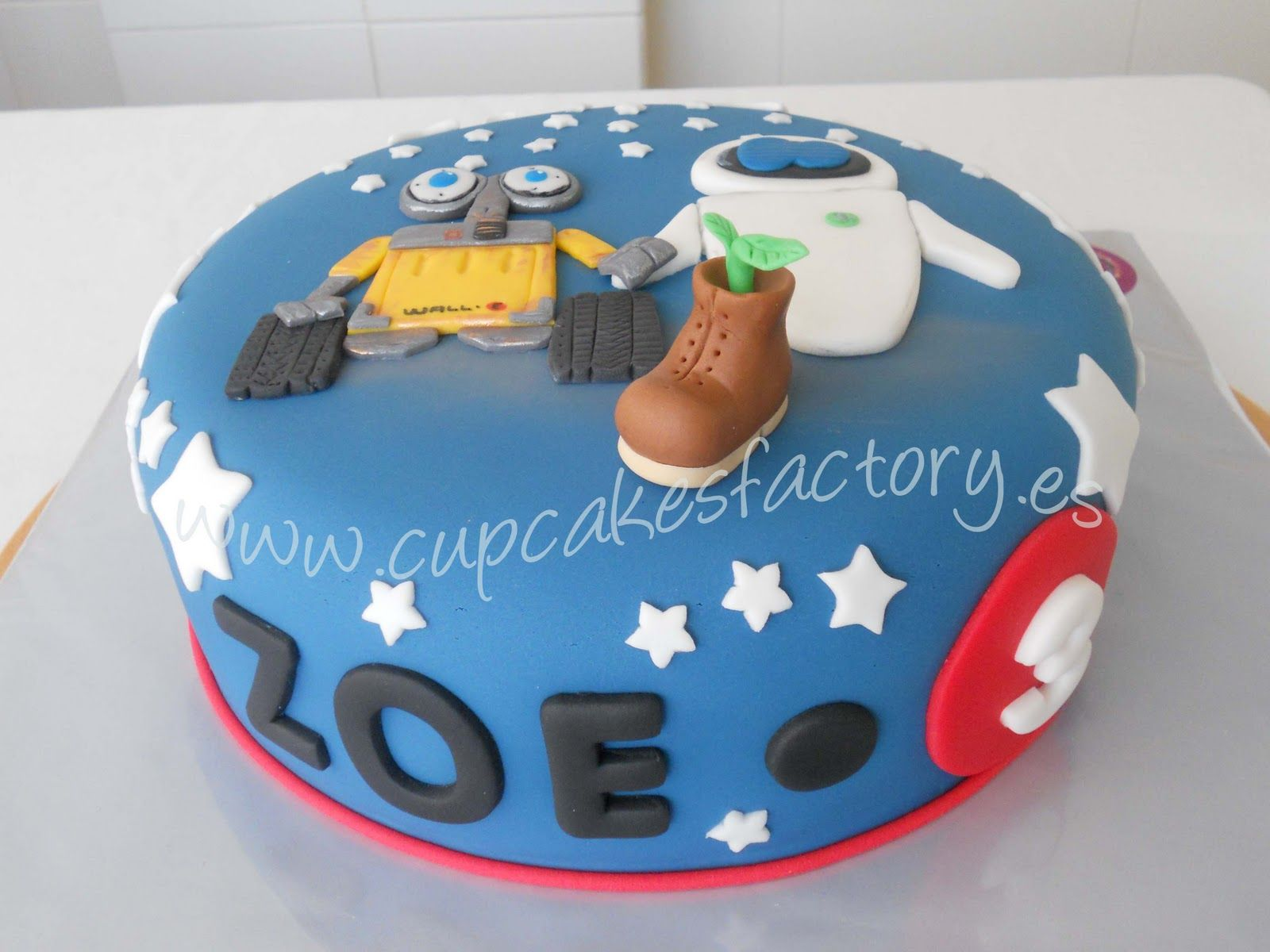Wall E And Eve Cake Cupcake Factory Man Birthday