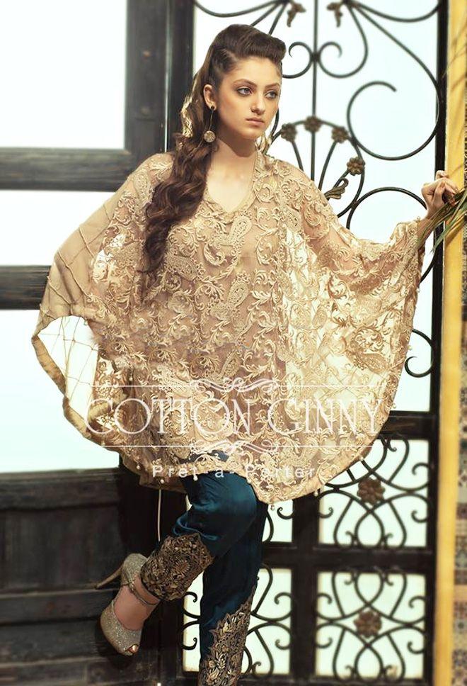 Latest Pakistani Cape Style Dresses 2017 2018 Designer Collection Beststylo Com Pakistani Cape Dresses Pakistani Dress Design Fashion Dresses