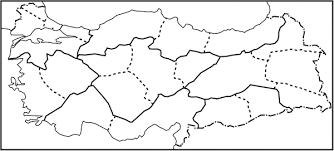 Turkiye Bolgeler Dilsiz Haritasi Ile Ilgili Gorsel Sonucu Harita Haritalar Turkiye