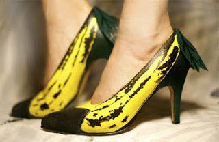 Deby Clark - Random Acts of Vintage: Fashion Inspiration - Going Bananas