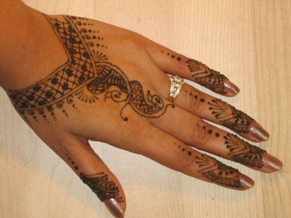 Group Mehndi Hands : Full hand bridal arabic mehndi design how to make henna art