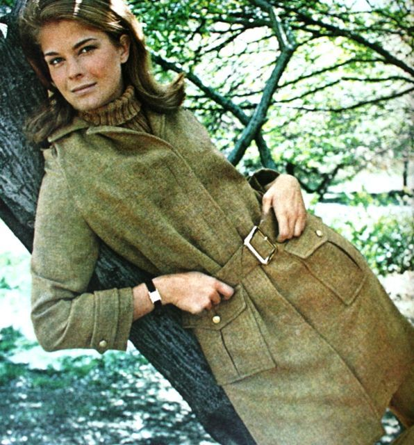 Candice Bergen by Francesco Scavullo. Ladies' Home Journal August 1966