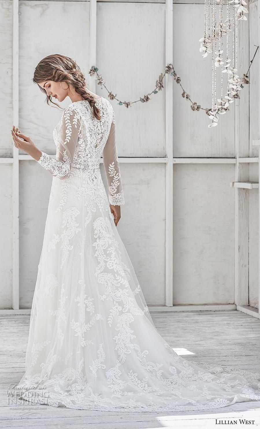 Lillian west spring wedding dresses in f gowns