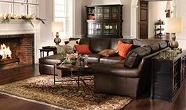 Delightful The Brentwood Sectional Is Perfect For Cozying Up To The Fire.