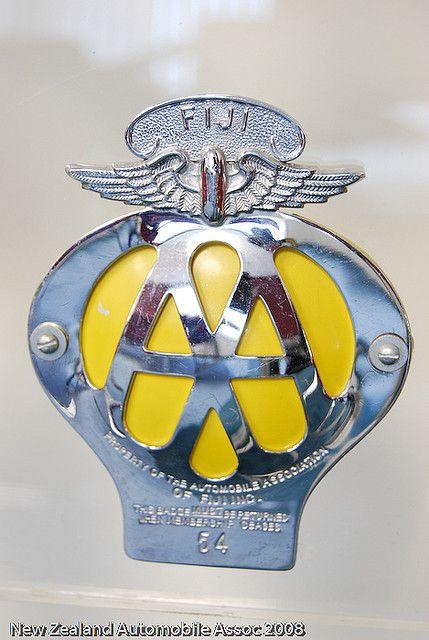 Aa Fiji Badge Car Club Badge Badge Car Emblem