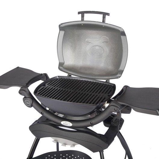 Barbecue électrique Weber Q 1400 Gris Anthracite avec stand