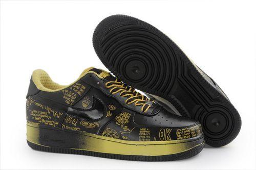 air force 1 basso scarpe a buon mercato uomini nike air force 1 basso scarpe nere