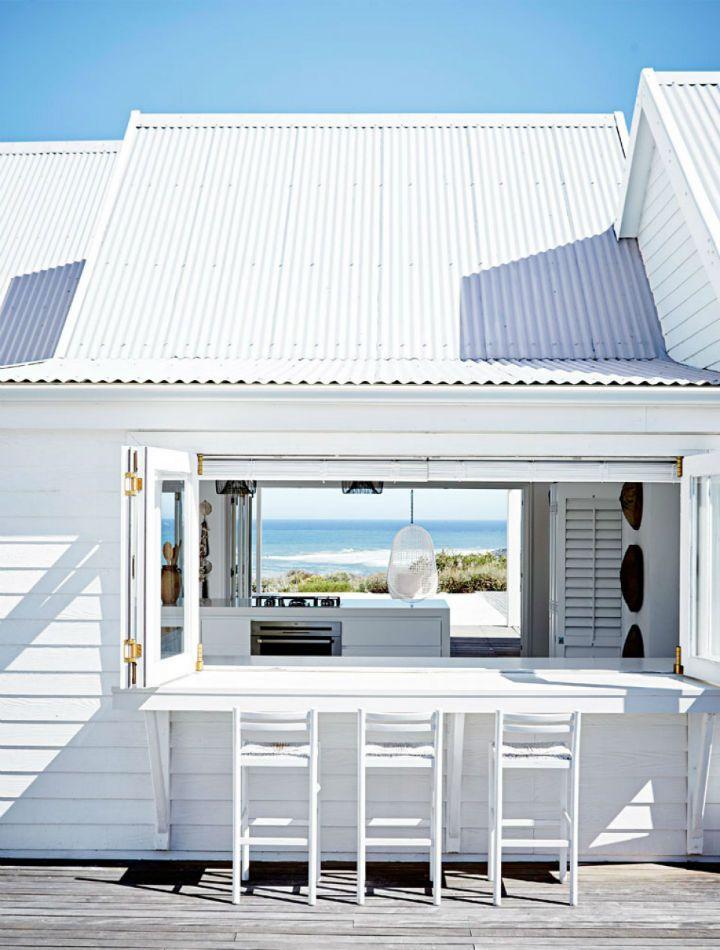 Strand Haus Ruhig Am Meer Leben Versteckt In Einem Atemberaubend
