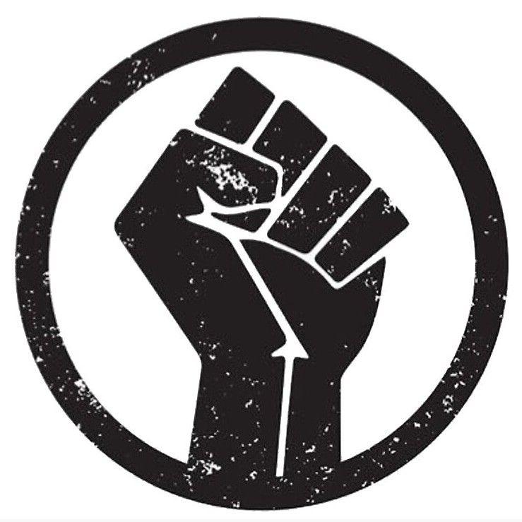 Black Lives Matter Fist Black Lives Matter Poster Black Lives Matter Art Black Lives