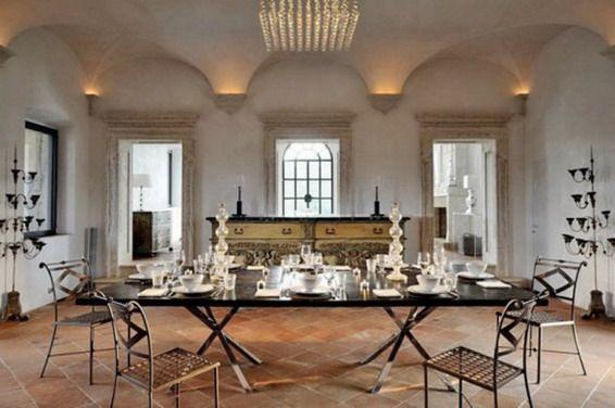 Exotic Modern Italian Villa Interior Design Style2 Symetrical
