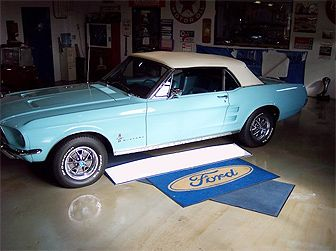 DREAM CAR  67 MUSTANG CONVERTIBLE LIGHT BLUE ♥ | Drivin' In The