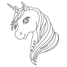 Top 50 Unicorn Coloring Pages For Toddlers #50freeprintables