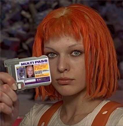 Fifth element leeloo dallas fucks herself in the ass 6