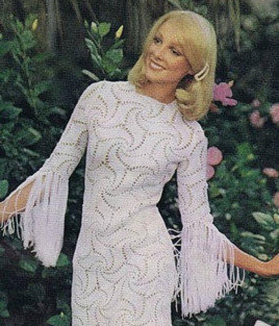 Patron de tejido crochet patron pdf de tejido vestido de | Crochet ...