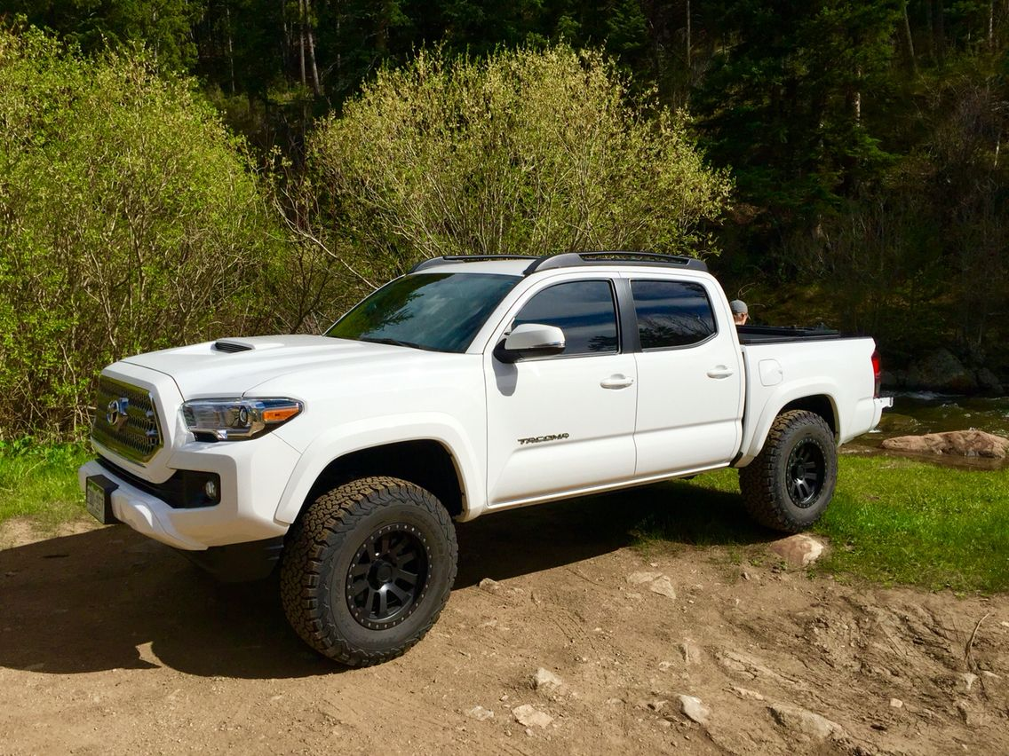 2016 Tacoma with 3 inch lift  285/70/17 BF KO2's | Cars And