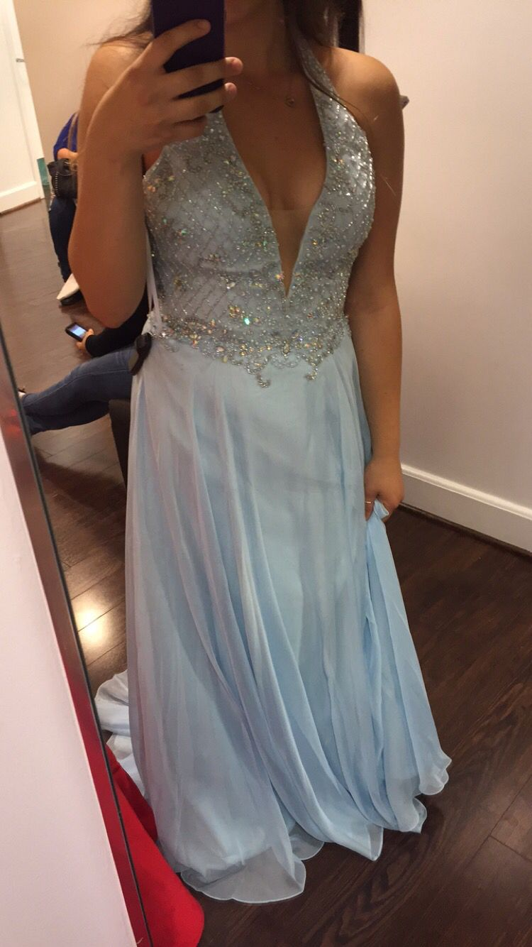 Blue cinderella prom dress prom pinterest