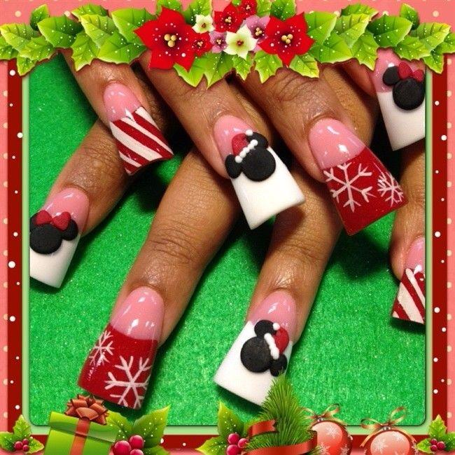 Moderno Navidad Sns Uñas Festooning - Ideas de Pintar de Uñas ...