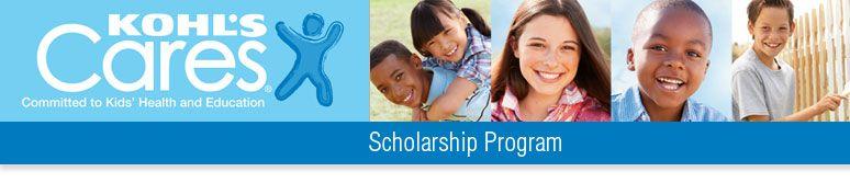Kohls cares scholarship program scholarships for