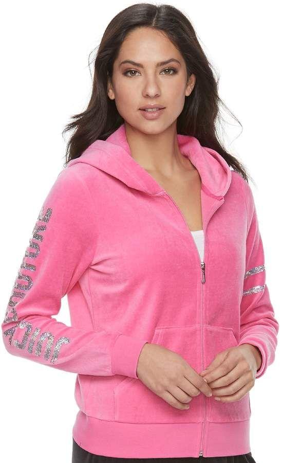 Women s Juicy Couture Embellished Hoodie Jacket  9c71b7c904