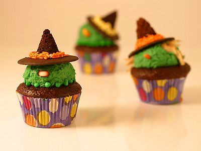 100 halloween recipes from food network halloweenie pinterest get wicked cupcakes recipe from cooking channel forumfinder Choice Image