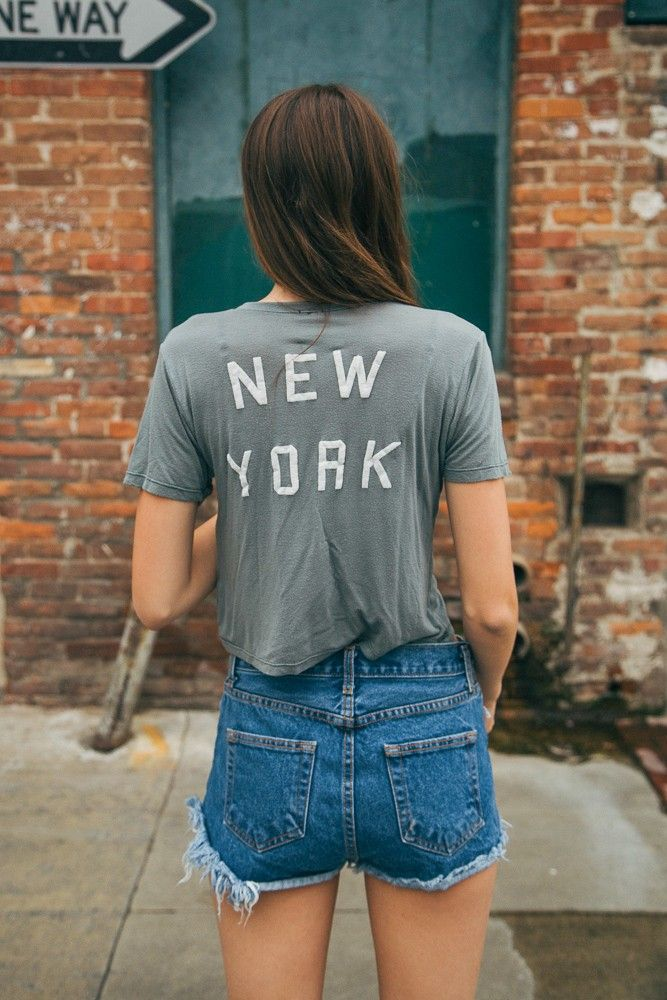 Brandy ♥ Melville | Karley New York Top - Graphics
