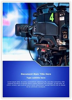 tv show word document template is one of the best word document, Modern powerpoint