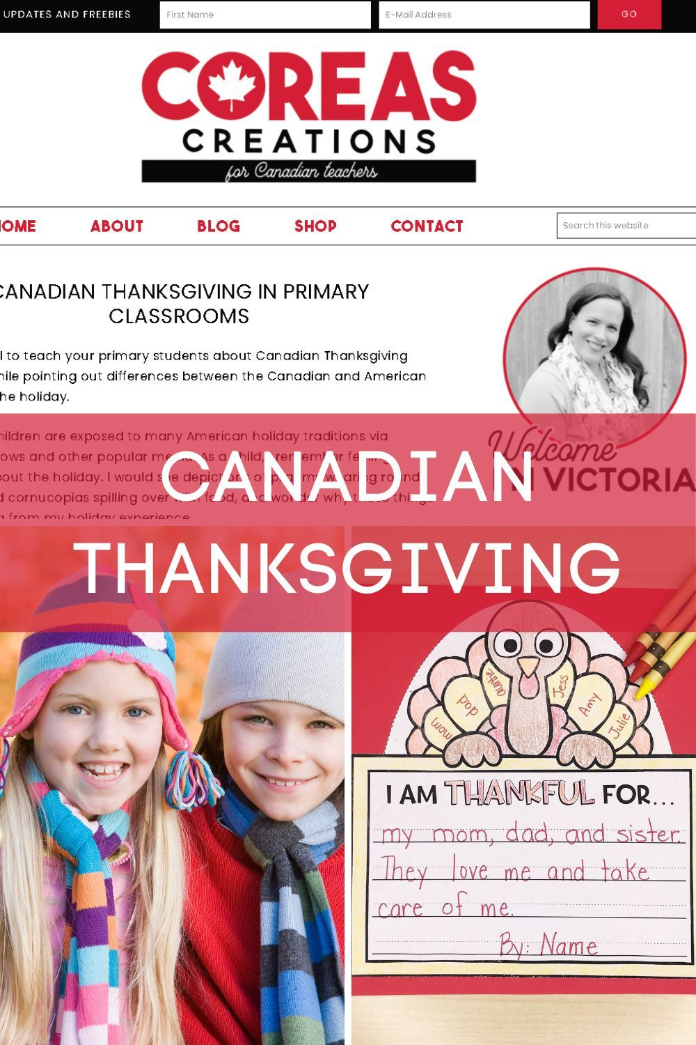Canadian Thanksgiving in 2020 Holiday lessons, Primary