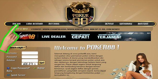 Poker88 Asia Poker88 Info Poker88 Poker Kasino Video Game