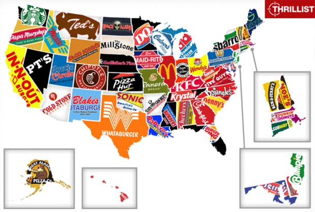 25 Maps That Describe America