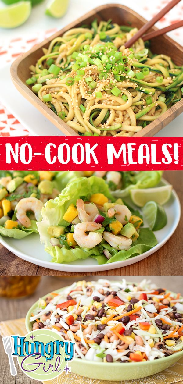 No-Cook Recipe Roundup: Lunch, Dinner & Sides images