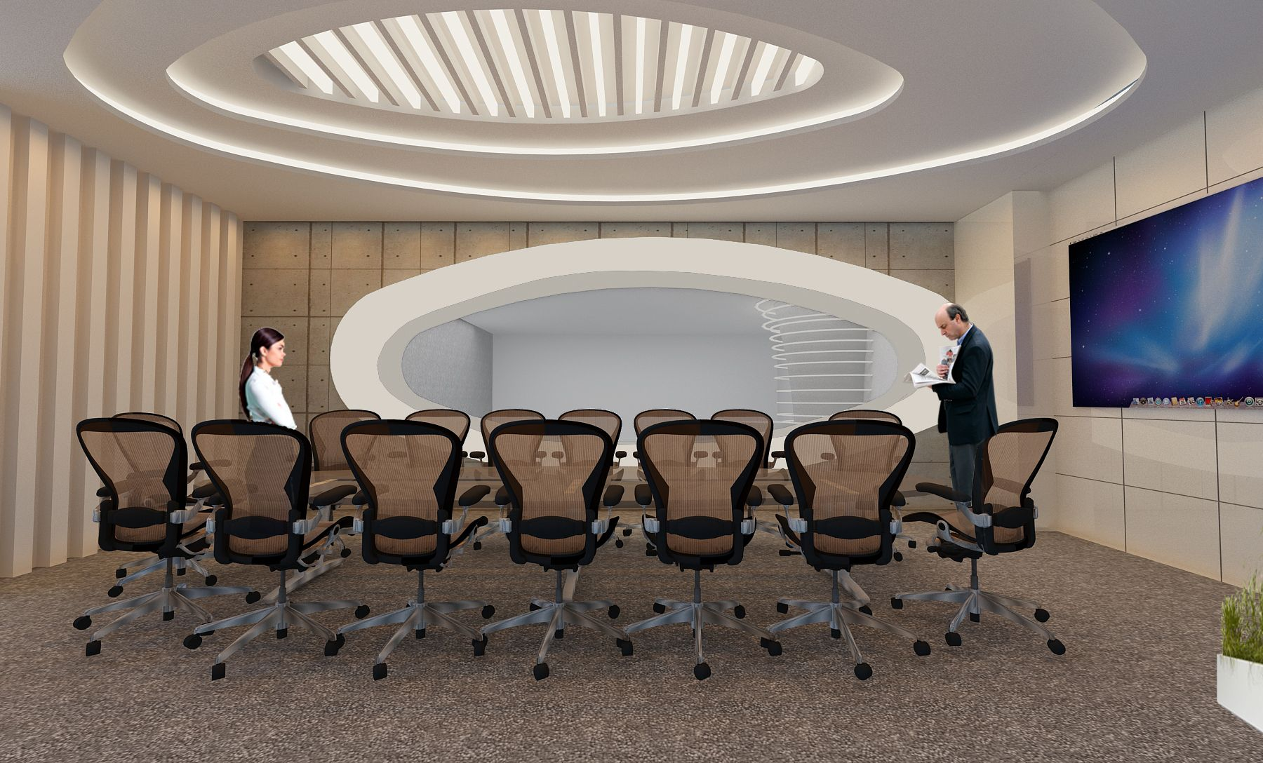 Interior design of spacious meeting rooms or conference by  studio interiors also pin on architects and designiners rh pinterest