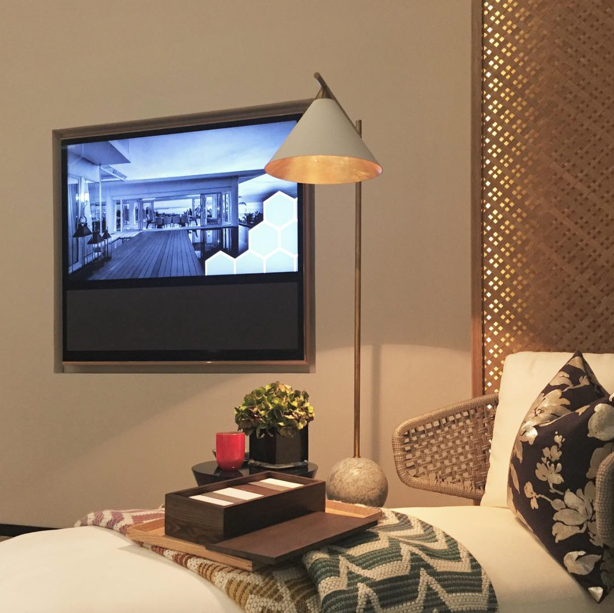 Cozy Interior With Beovision 11 Shared By Alsanisidik On Instagram  # Meuble Tv Goya