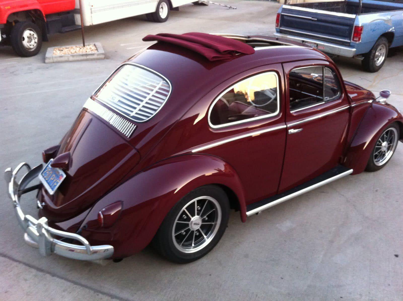 Vwvortex Com 1959 Vw Bug Garnet Red Ragtop W 1776