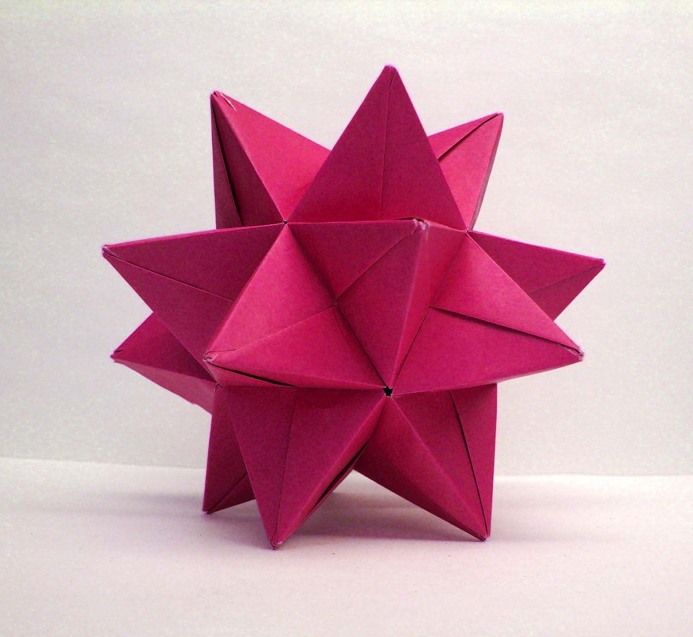 Modular Origami Star Ball